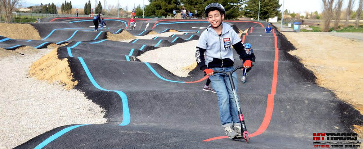 Inauguration du Pumptrack de Coursan
