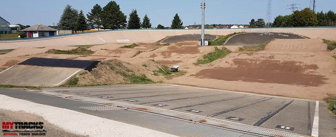 Modifications de la piste BMX de Strasbourg
